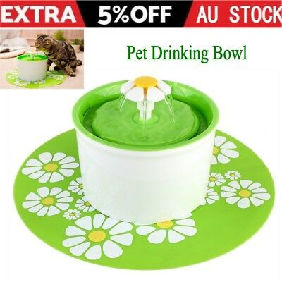 Automatic Electric Pet Water Fountain Dog/Cat Drinking Bowl Waterfall Drink well