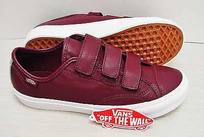 6cdd02e0fa Vans Style 23 V 2 Tone Leather Metallic Port Royale VN0A38GCMWX Womens Size   8.5