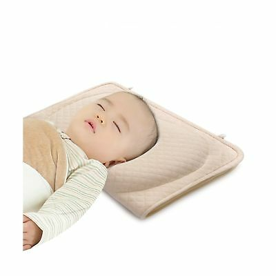 Baby Pillow for Newborn Prevent Flat Head Syndrome, Baby Memory Foam Head-Sha...