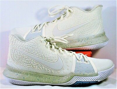 d5cc0475ee5 Nike Kyrie 3 III Summer Pack Shoes Light Bone & Pale White Sz 10 NEW 852395