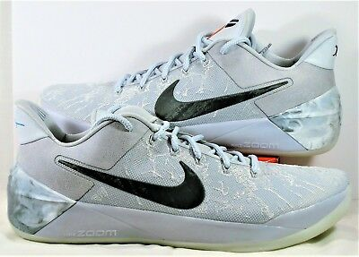best website d82de 09047 NIKE KOBE AD PE DeRozan LA City Of Compton Cool Lite Grey Sz 17 NEW 942301  900