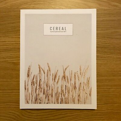 Cereal Magazine Vol.4 / Issue 4. Near Mint Copies.