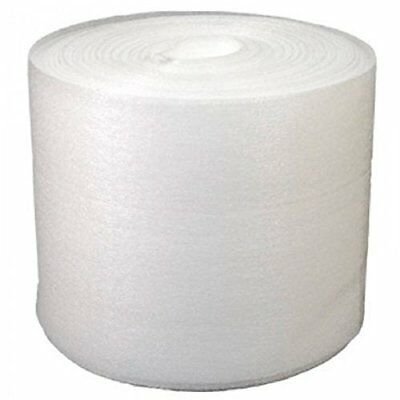 """12"""" x 50 Foam Wrap Roll Protect Glasses Fragile Shipping Moving Packing Office"""