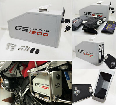 Decorative aluminum box for BMW R1200GSA LC Adventure 2014-on Toolbox Suitable