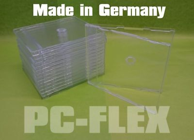 37/74/148 Slim Case CD Hüllen (Maxi CD) 7mm Klar/Transparent für 1 CD Top Quali!