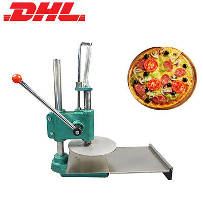 Household Pizza Dough Pastry Manual Press Machine Roller Sheeter Pasta Maker DHL
