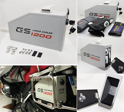 Decorative aluminum box for BMW R1200GS LC water coole 2013-on Toolbox Suitable