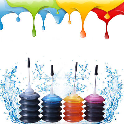 1 X 30ml Bottle Color Ink Jet Cartridge Refill Kit for HP Canon Brother Printer