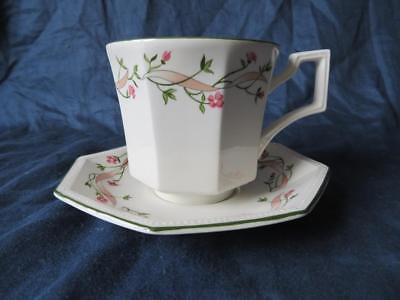 Johnson Brothers Eternal Beau Large Breakfast Cup & Saucer V.g.cond