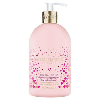 Baylis & Harding Rose Prosecco Fizz Luxury Hand Wash + added moisturisers 500ml