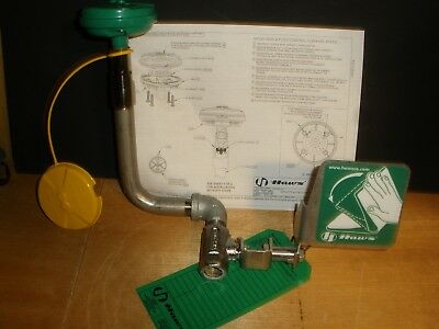 Haws Eyewash Valve Assembly For 8317CTFP With Tag Activation Plate Head & Cover