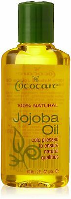 100% Natural Jojoba Oil, Cococare, 2 oz