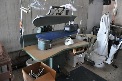 Lot of Used Dry Cleaning Equipment including Cissell & Hoffman