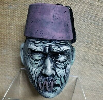 "Cursed Tikis ""Imhotep"" The Mummy Shrunken Head tiki mug Sold Out  Test proof"