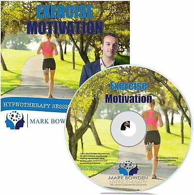 Exercise Motivation Self Hypnosis CD - Hypnotherapy CD to get you motivated to