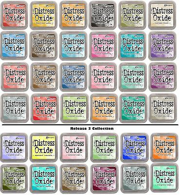 Tim Holtz Ranger Distress Oxide Ink Pads Full Size 48 Colours Now In Stock