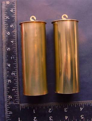 ref14/1:Pair leadfilled replacement Vienna regulator clock weights