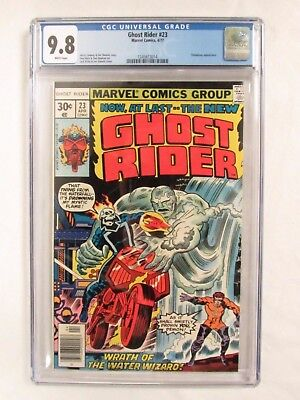 Ghost Rider #23 (1977) Highest Graded CGC 9.8 White Pages Marvel Comics CM215