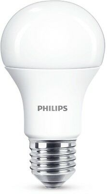 Philips LED E27 Edison Screw Light Bulb Frosted 75 W Warm White Bright - NEW