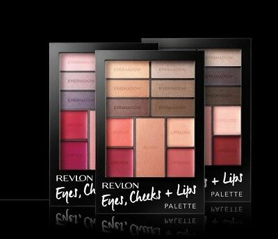 Revlon Eyes, Cheeks + Lips Palette. Various Colours