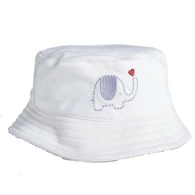 Natures Purest My First Friend Sun Hat with Chin Strap (0-3 months)  (0133A)