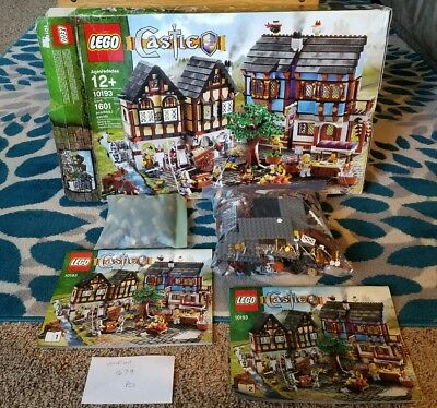 LEGO Minifigures, Market & Tree Only from Castle Medieval Market ...
