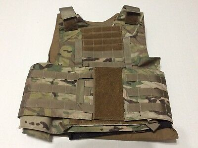 Beez Combat Systems BALCS Armor Carrier W/ 10x12 Armor Plate Pockets,  Multicam