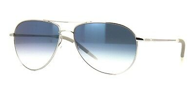 586415cdd79 Oliver Peoples BENEDICT OV 1002S silver chrome sapphire vfx (5241 3F)  Sunglasses