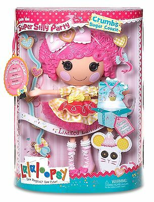 Lalaloopsy 536222GR Lalabration Crumbs , limitierte Puppe , NEU , OVP