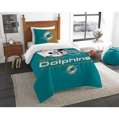 Blue NFL Miami Dolphins Adult Sunglass and Bag Set