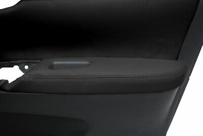 Door Armrest Leather Synthetic Cover Fits Nissan Sentra 13-19 Black