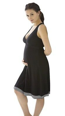 Belabumbum Womens Maternity Before And After Reversible Dress Large