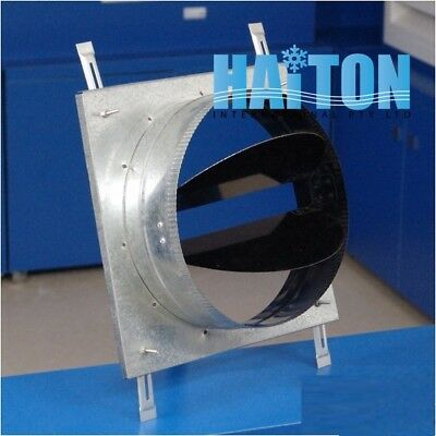NECK ADAPTOR FOR DUCT SQUARE CELILING AIR DIFFUSER Model: NA-BD-Y 150x150