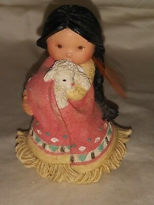 Enesco Corporation Friends of Feather Figurine 1994 She who cares A Lot 115630