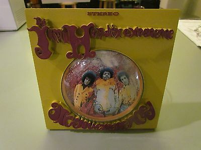 Jimi Hendrix 2006 Mcfarlane Toys Are You Experienced Plaque Wall Art 3D Lp