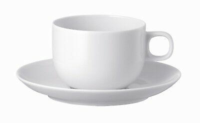Rosenthal 'Moon' White Coffee Cup & Saucer Sets (6)