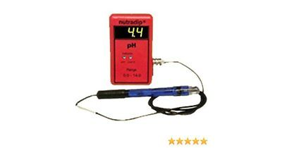 120V AC Power Future Harvest NutraDip CMS pH Meter w/ Remote Sensor Probe pHMS-1