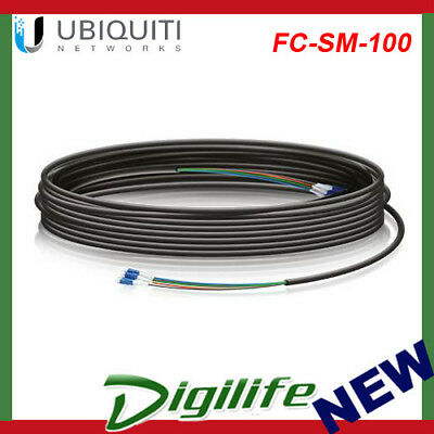 Ubiquiti Networks FC-SM-100 Single-Mode LC Fiber Cable - 30m FC-SM-100