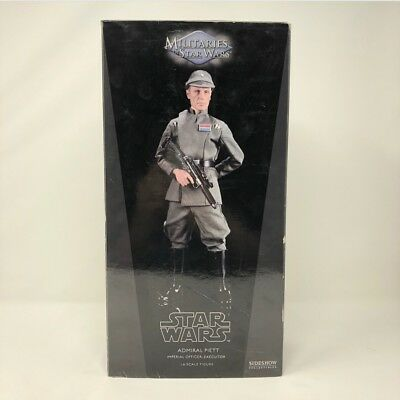 Sideshow Star Wars 1:6 Admiral Piett Imperial Officier- Rare- Not Hot Toys