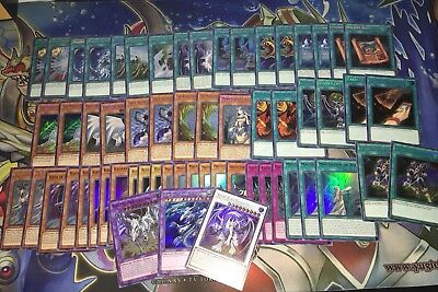 Yugioh Blue Eyes Deck! Holos Ultras & Secrets Only! 60 Cards All Mint!!