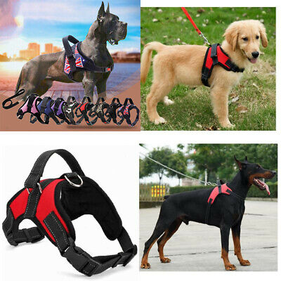 Small Large Dog Adjustable Harness Pet Strap Vest Collars Pets Accessories