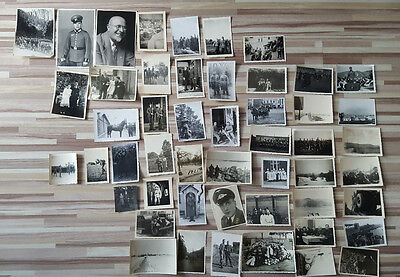 Lot 50 Vintage Original Ww2 German Army Real Photos Officers Soldiers Uniforms 7