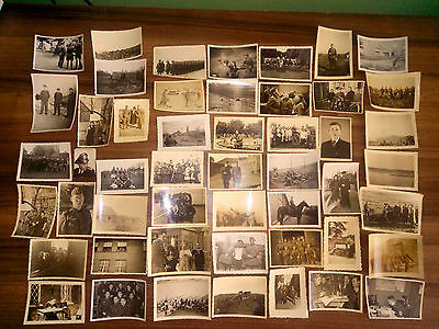 Lot 50 Vintage Original Ww2 German Army Real Photos Officers Soldiers Uniforms