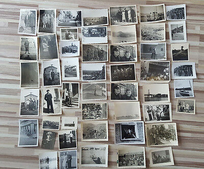 Lot 50 Vintage Original Ww2 German Army Real Photos Officers Soldiers Uniforms 8
