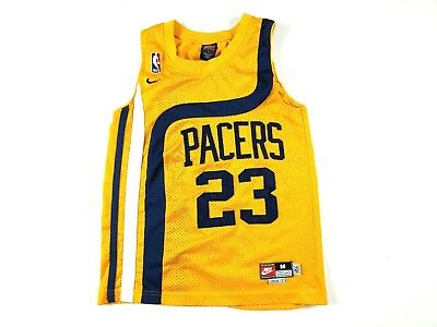 designer fashion 1e137 aa6ff indiana pacers throwback jersey