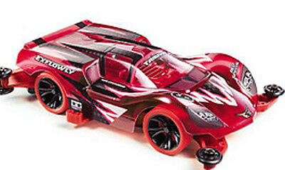TAMIYA 95339 Mini 4WD Racer Limited 1/32 Exflowly Red Special Polycarbonate PRO