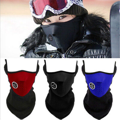 Hot Winter Windproof Neck Face Protection Mask Outdoor Cycling Riding Biking CV