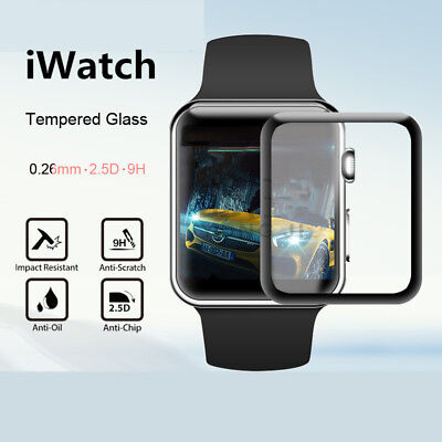 For Apple Watch 38MM Protective Film 3D Surface Full-screen Watch Tempered Glass