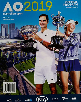The Australian Open Tennis Official PROGRAM Guide 2019 - FREE POSTAGE (NEW)
