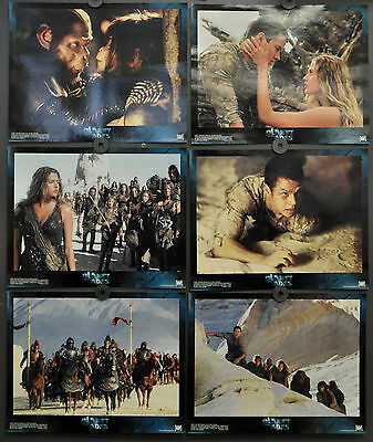 Planet Of The Apes 2001 Orig 11X14 Mint Set Of 10 Lobby Cards Mark Wahlberg